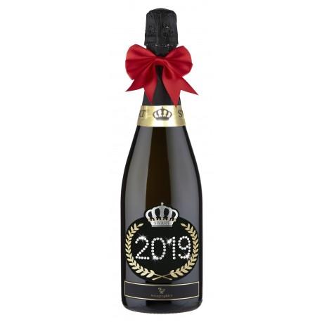 Bottiglia Nera Spumante- Modello Imperiale  - BUON 2019