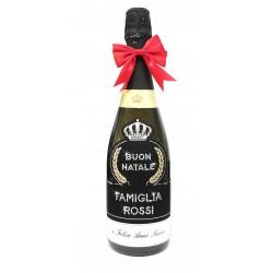 Buon Natale, Vino Spumante personalizzato